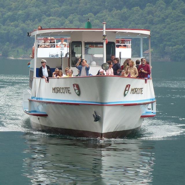 Un paseo en barco movidito