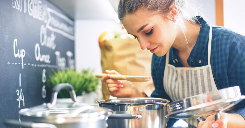 ¿Con qué  cocina cocinas?
